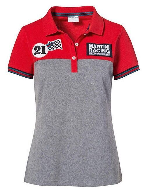 European Size Extra Large Red Genuine Porsche Mens Polo Shirt