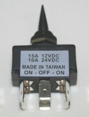 Marpac Momentary On-off-momentary On Toggle Switch Dpdt - 7-0465