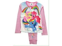 My little pony 3 star girl's long sleeve pyjamas