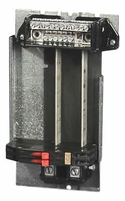 Zinsco 8 Circuit Breaker Panel Interior Buss For Repair Or Replacement