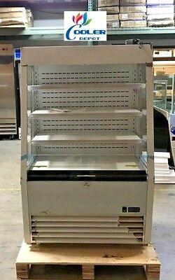 New 36 Open Air Refrigerator Cooler Sandwich Cafe Dessert Beverage Display Nsf