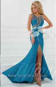 Teal Ball Dress For Sale (size 8) Floreat Cambridge Area Preview