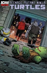 Teenage Mutant Ninja Turtles #44A, #44B and #56A