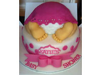 Birthday , Wedding and Baby shower cakes made to your specific requirement.