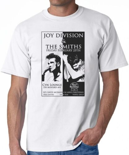 T-SHIRT-Joy-Division-The-Smiths-Gig-Flyer-Tour-Poster-cure