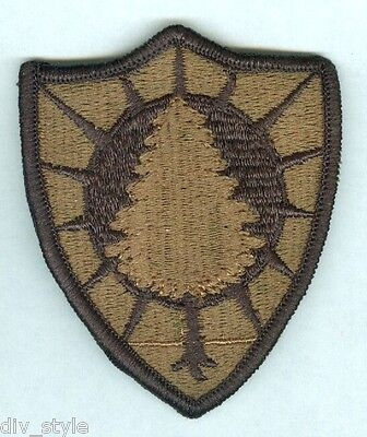 Maine Army National Guard  subdued color Patch Military Surplus mint condition
