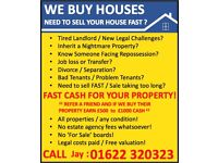 WE BUY HOUSES - Need to sell your property?