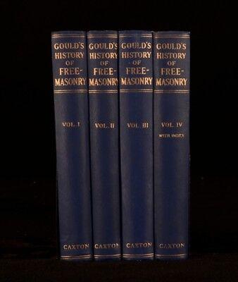 viaLibri ~ 1952 4Vols Robert Freke Gould History Freemasonry