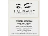 MICROBLADING & PERMENANT MAKE UP MODELS REQUIRED