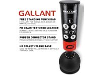 Gallant free standing 5ft punch bag. Brand New