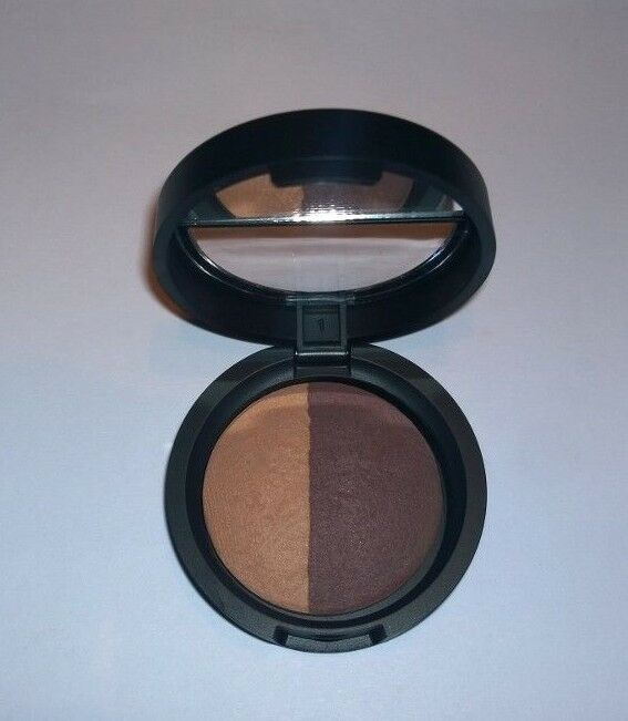 Laura Geller Baked Eye Shadow Duo Honey Butter Bordeaux Buzz