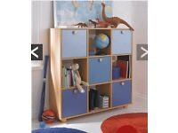 New and Ready Assembled Kidspace Metro 3 X 3 Cube Storage And Shelf Unit