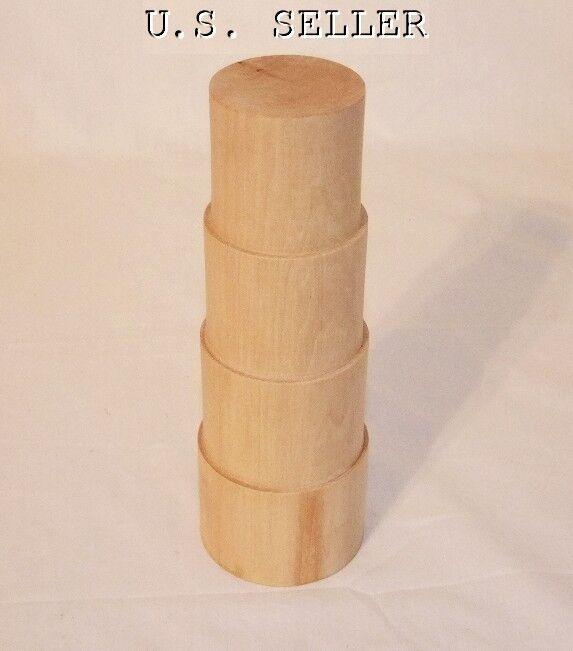 Solid Wood Stepped 8 Inch Bracelet Mandrel