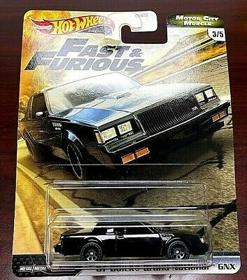 2020 Hot Wheels Fast & Furious Motor City Muscle '87 Buick Grand National GNX