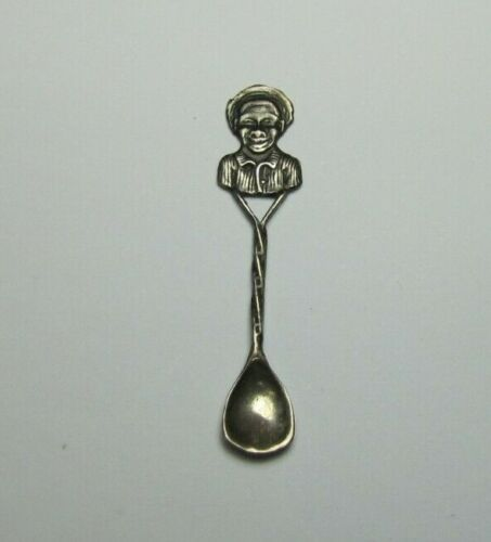 Antique Sterling Silver Tiny Medicine Powder Spoon Drug Store Apothecary
