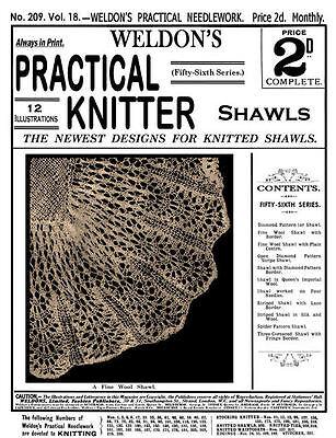 Шаблоны Weldon's 2D #209 c.1902 Practical