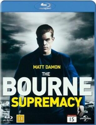 The Bourne Supremacy Blue Ray Disc (European Packaging Film Plays English) -KH32