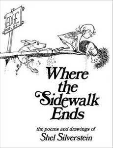 Where the Sidewalk Ends by Shel Silverstein Hardcover Book (English)