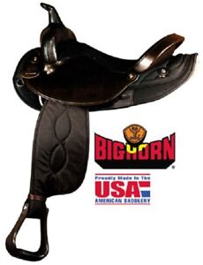 Big Horn Saddle 101 Sheriff tack, saddle bags & stand