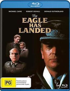 THE EAGLE HAS LANDED - BLU RAY DVD - BRAND NEW & SEALED