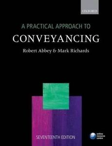 A Practical Approach to Conveyancing-ExLibrary