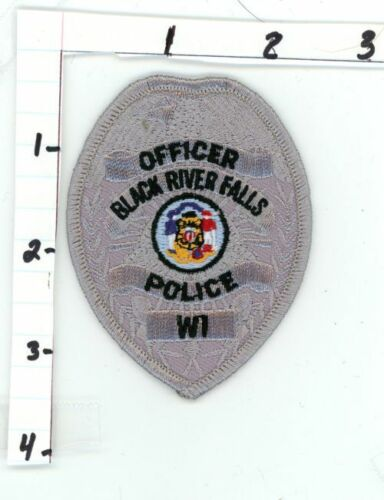 WISCONSIN WI BLACK RIVER FALLS POLICE NEW PATCH SHERIFF