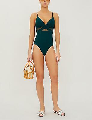 JETS by Jessika Allen One piece swimsuit Jungle Green UK 14