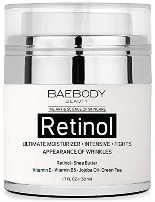 Baebody Retinol Moisturizer for Face and Eye Area With Cream