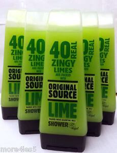 6-x-Original-Source-Lime-Shower-Gel-250ml-Naturally-Intense