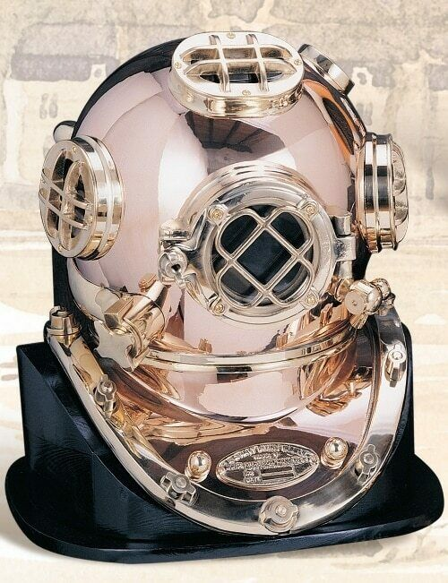 """Deluxe Mark V Dive Helmet Without a Base, 18"""""""