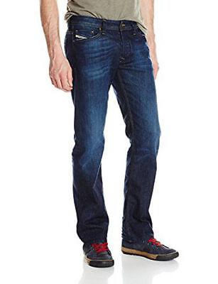 NWT Authentic Diesel Men's Viker Straight Leg Jean Denim W33 x L30 Wash 0RUS6