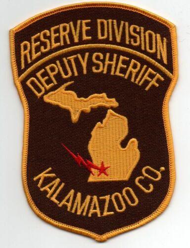MICHIGAN MI KALAMAZOO COUNTY SHERIFF RESERVE NICE PATCH POLICE