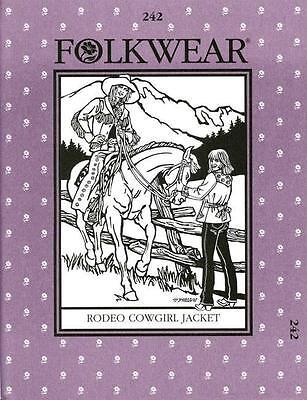 Reiten-kostüm (Western Rodeo Cowgirl Jacke Folkwear 242 Nähen Reiten Kostüm Muster)