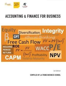 Cp1023 - Accounting and Finance for Business by Peter Robinson, Phil Hancock,...