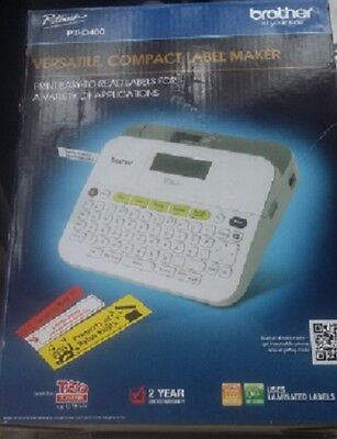 Free Label Maker - Brother PTD400 Label Maker - Brand New - Free Shipping