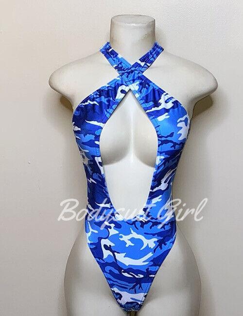 Exotic Dancewear Thong Bodysuit