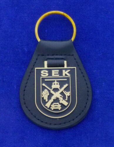 German SWAT Leather Key Ring #SEK