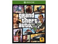Xbox one games GTA V and rainbow six siege