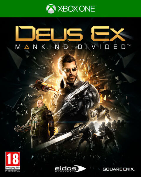 Xbox One - Deus Ex: Mankind Divided (brand new)