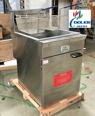 New Commercial 70lb Fryer Frialator Deep Fryer Brand New Natural Gas Nsf Nat Gas