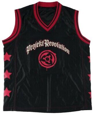 Vintage 2004 Linkin Park Projekt Revolution Basketball Jersey Shirt Small New