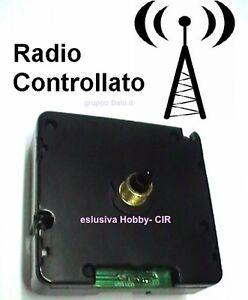 MECCANISMO-OROLOGIO-RADIOCONTROLLATO-sempre-lora-esatta-frequ-DCF-SILENZIOSO