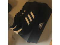 Adidas Superstars Size 9.5 UK