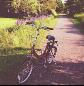 Schwinn foldable RED bike