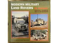 Modern Military Land Rovers in Colour 1971-94