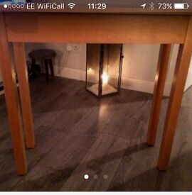 Lovely hand made table.