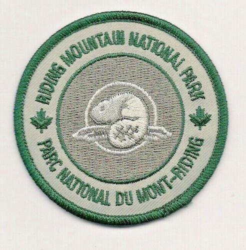 Riding Mountain National Park Manitoba Souvenir Patch