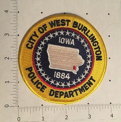 West Burlington Police Department Patch – Iowa