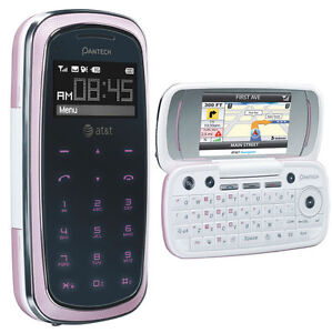 New Pantech Impact P7000 - PINK (AT&T) Cell Phone QWERTY