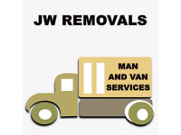 JW REMOVALS- MAN AND VAN SERVICES